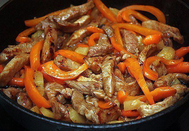 Рецепты мясо по тайски